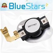 3977767 Dryer Thermostat Replacement Part By Blue Stars Exact Fit For