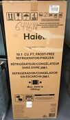 Haier 10 1 Cu Ft Frost Free Ha10tg31sw White Top Freezer Refrigerator