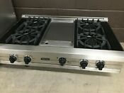 2 Pc Set Viking Range Top 42 And Viking 30 Double Wall Oven Vedo5302ss
