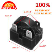 Qp 02 4 7 Refrigerator Start Relay Ptc For Danby Magic Chef Kenmore 4 7 Ohm 3pin