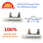 2 Pc 3392519 Dryer Blower Thermal Fuse Fit Whirlpool Kenmore Maytag Ps11741460