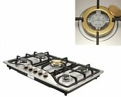 30 Stainless Steel Built In 5 Burner Stoves Ng Lpg Gas Cooktop Conversion Kit
