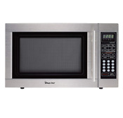 Countertop Microwave Stainless Steel Power Level Auto Cook Setting Digital Displ