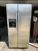 Frigidaire Refrigerator Side By Side Stainless Steel