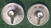 Vintage Ge Hotpoint Oven Knobs Set Of Two 462a143 G1 462a145gr
