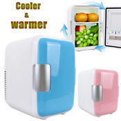 4l Mini Car Home 12v Dual Use Refrigerator Portable Multi Function Cooler Warmer