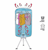 Electric Clothes Dryer W Towel Rack Household Clothes Drying Machine New