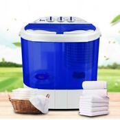 Mini 10 4lbs Portable Washing Machine Washer Spin Dryer Good Condition Dormitory