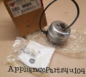 New 833697 Refrigerator Condenser Fan Motor For Whirlpool Kenmore New