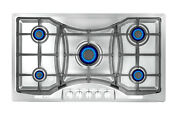 Empava 36 Gas Cooktop 5 Burners Built In Stove Stainless Steel Ng Lgp 36gc888
