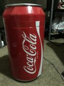 Compact Coca Cola Can Refrigerator Mini Countertop Coke Soda Retro Gift Fridge