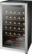 Insignia 29 Bottle Wine Cooler Stainless Steel