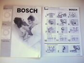 Bosch Axxis Washing Machine Owners Manual Washer Wrf2450 Wrf2460
