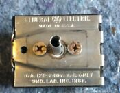 Vintage Ge General Electric Range Burner Control Switch 344565 Asr 6167 36