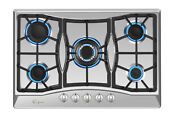 Empava 30 In Gas Cooktop 5 Itatly Sabaf Burners Sealed Stove Tops Cooker 30gc0a5