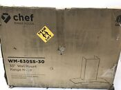 Hauslane Chef Series Range Hood Wm 630 30 Wall Mount Range Hood Stainless