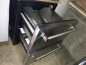 Kitchenaid Stainless Steel Double Refrigerator Drawer 24 Inches