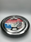 Range Kleen 2 Pack Drip Bowls B Style For Electric Stoves Chrome Drip Pans