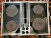 Jenn Air C221 30 Electric Downdraft Cooktop Jenn Air Stainless Grill Griddle