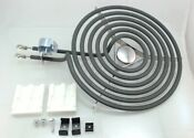 General Electric Hotpoint Range Cooktop 8 Surface Burner Kit Wb30x348
