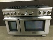 Thermador Prd486jdgu 48 Dual Fuel Range Pro Grand 6 Burners Griddle Stainless