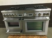 Thermador Prd48wdsgu 48 Dual Fuel Range Pro Grand Steam 6 Burners Griddle