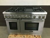 Thermador Prg486gdh 48 All Gas Range Pro Harmony 6 Burners Griddle
