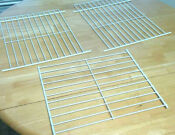 Lot Of 3 Frigidaire Refrigerator Freezer Wire Shelves White