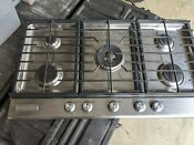 Kitchenaid 36 5 Burner Gas Cooktop Stainless Steel Kfgs366vss03
