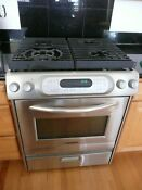 Kitchenaid Stainless Steel 30 Inch Gas Range And Oven