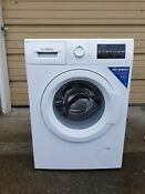 New Display Bosch Wat28400uc 240v Electric Front Load Compact Clothes Washer