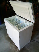 Frigidaire Chest Freezer 7 2 Cu Ft Model Ffc0723dw19 Local Pickup Only