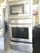 Thermador Pomw301 30 Stainless Triple Combination Wall Oven Nob 46469 Hrt