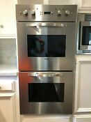 Viking Designer Series Dedo270 Stainless Steel Electric Double Oven