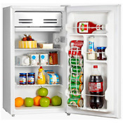 3 3 Cubic Feet Under Counter Upright Refrigerator With Small Freezer Dorm Office