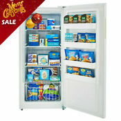 Smad 13 8 Cu Ft Upright Freezer Frost Free Refrigerator E Star High Efficiency