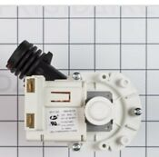 A00126501 Dishwasher Drain Pump Assembly For Frigidaire 154640201 154474101