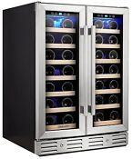 Kalamera 24 Wine Refrigerator 40 Bottle Built In Or Freestanding With Stainless