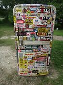 Vintage 1950 S Coldspot Refrigerator With Rare Stickers On It