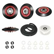 4392067 Dryer Replacement Parts Includes Wpw10314173 Drum Roller