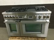 Thermador Prd486wdgu 48 Dual Fuel Range Pro Grand 6 Burners Griddle Stainless