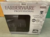 Farberware Fdw05asbwha Complete Portable Countertop Dishwasher With 5 Liter New