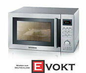 Severin Mw7868 Microwave Oven With Grill Convection Stainless Steel Genuine