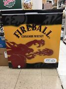 Fireball Whiskey Cooler Fridge Magic Chef Brand New