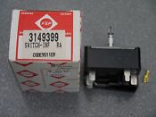 3149399 Range Surface Burner Element Infinite Switch Whirlpool Kenmore Stove Nos