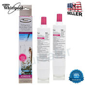 2 Pack Whirlpool 4396508 4396510 Kenmore 46 9010 Filter 5 Maytag Water Filter
