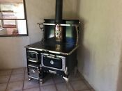 Margin Wood Burning Cook Stove With Stainless Steel Pipe And Rain Cap
