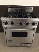 Viking Vgic307 4bss 30 Pro Gas Range Oven 4 Burner Stainless Steel