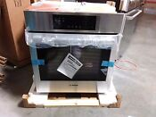 Bosch 800 Series 27 Stainless Steel Built In Single Wall Oven Hbn8451uc