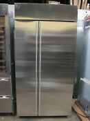 Ge Monogram Ziss420nkss 42 Inch Built In Counter Depth Side By Side Refrigerator